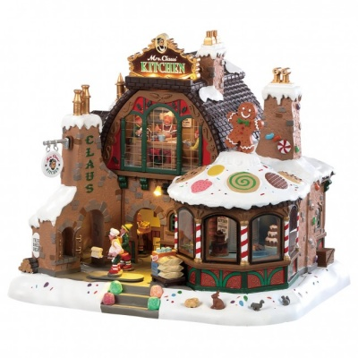 Lemax Mrs Claus Kitchen - Sights & Sounds Table Piece (85314)