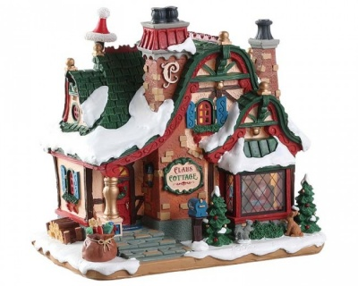 Lemax The Claus Cottage - Lighted Building (75292)