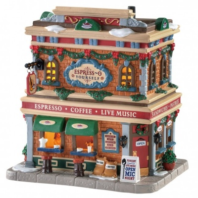 Lemax Village Espress-O Yourself - Lighted Building (85362)