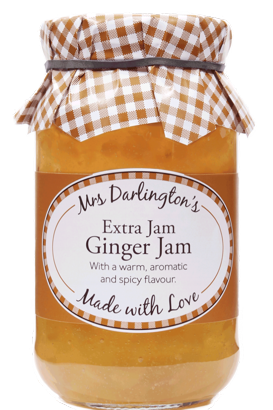 Mrs Darlington's Ginger Jam With Extra Jam 340g