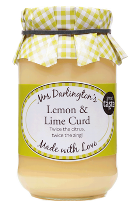 Mrs Darlington's Lemon and Lime Curd 320g