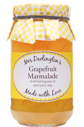 Mrs Darlington's Medium Cut Grapefruit Marmalade 340g