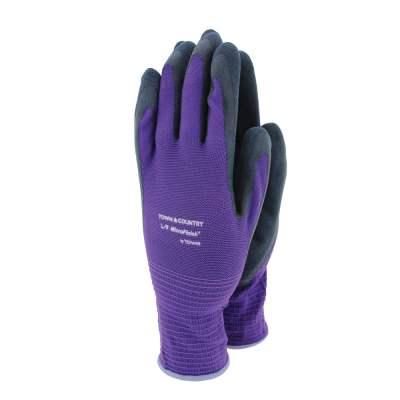 Town & Country Mastergrip Gloves Purple Medium