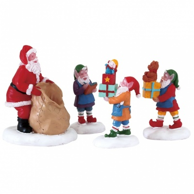 Lemax Present Procession Set of - Figurines (72553)