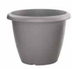 Woodlodge Eco-Pot Grey 25cm