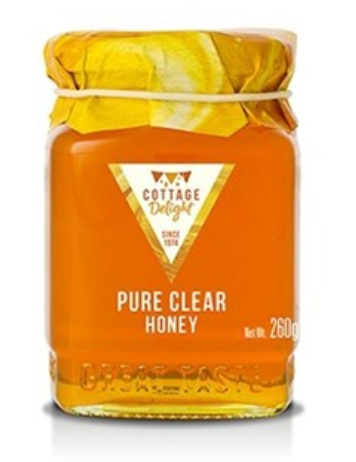 Cottage Delight Honey Clear 260g
