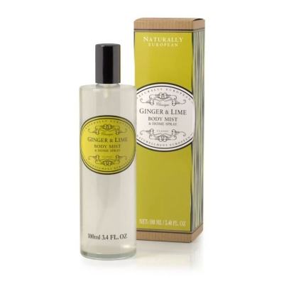 Somerset Toiletry Naturally European 100ml Body/Home Mist Ginger Lime