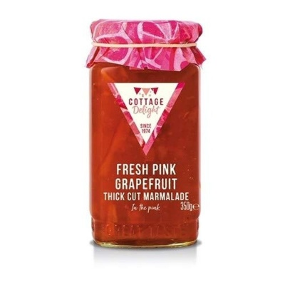 Cottage Delight Marmalade Pink Grapefruit Thick Cut 350g