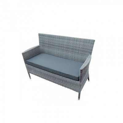 Glencrest Sandringham Seat Bench Dove Grey