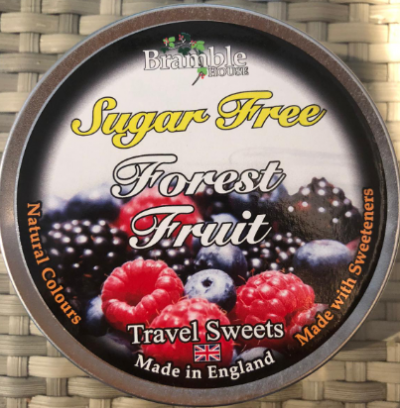 Bramble Forest Fruit Travel Sweets 175G