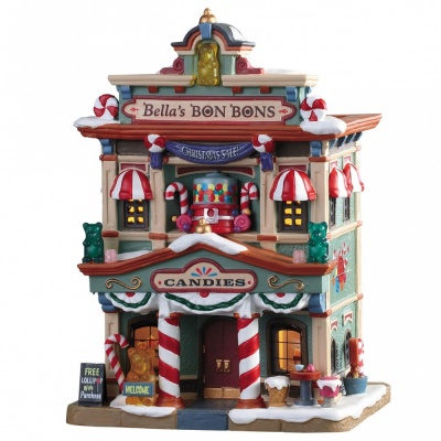 Lemax Bellas Bon Bons - Lighted Building (95509) *New 2019*