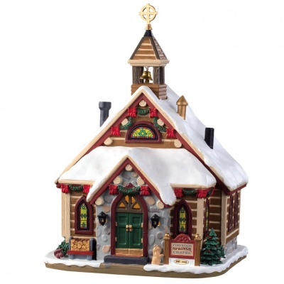 Lemax Pinewood Springs Chapel - Lighted Building (95477) *New 2019*