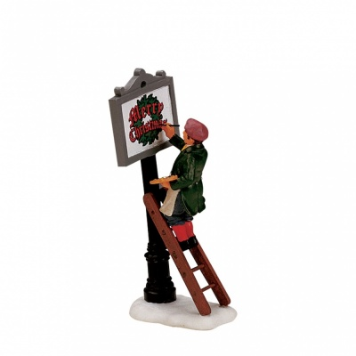 Lemax Sign Painter - Figurine (12527)