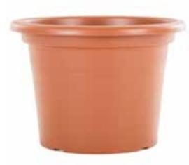 Woodlodge Eco Cylinder Terracotta 20cm