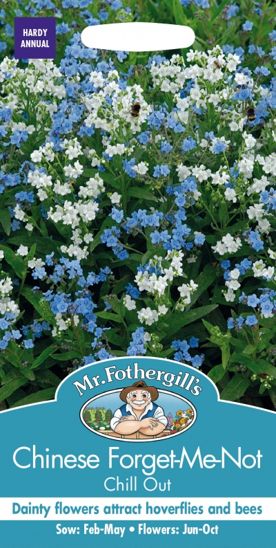 Mr Fothergills Chinese Forget-Me-Not Chill Out Seeds
