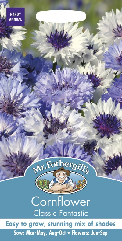Mr Fothergills Cornflower Classic Fantastic - Seeds