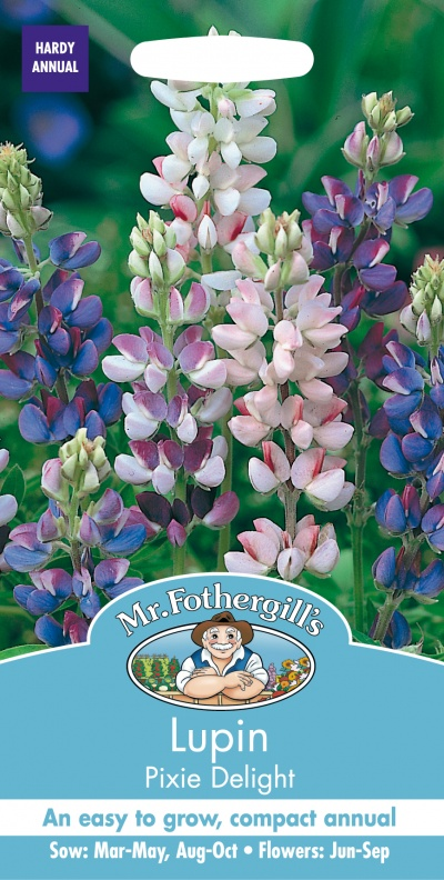 Mr Fothergills Lupin Pixie Delight Seeds