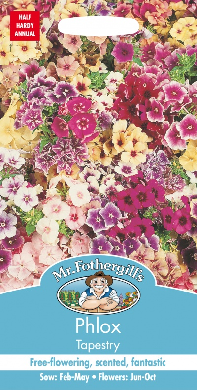 Mr Fothergills PHLOX Tapestry Seeds