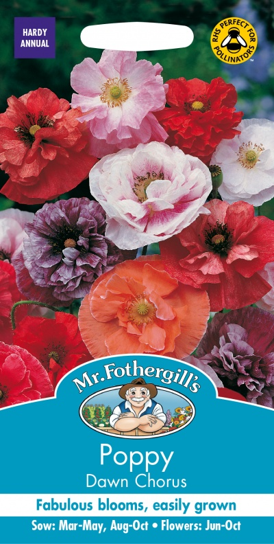 Mr Fothergills Poppy Dawn Chorus Seeds