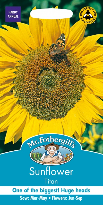 Mr Fothergills Sunflower Titan Seeds