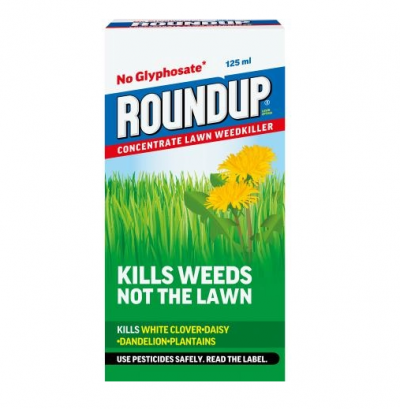 Roundup Lawn Ultra Concentrate 125ml Plus Extra Free