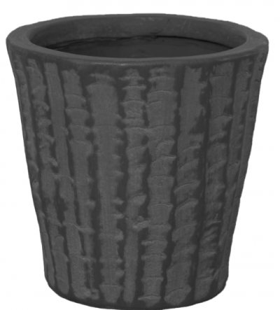 Ivyline Murcia Anthracite Planter 8cm