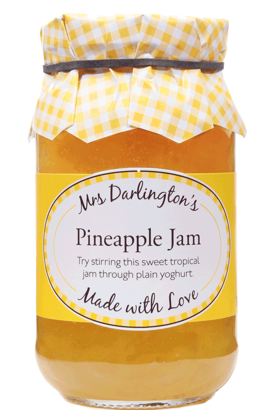 Mrs Darlington's Pineapple Jam 340g