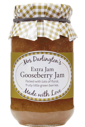 Mrs Darlington's Gooseberry Jam With Extra Jam 340g