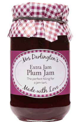 Mrs Darlington's Plum Jam With Extra Jam 340g