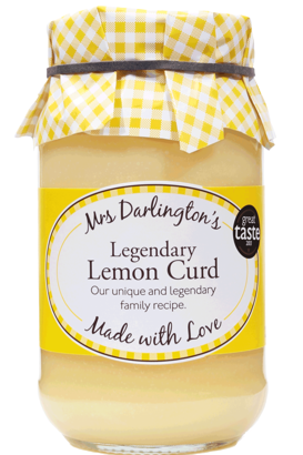 Mrs Darlington's Legendary Lemon Curd 320g
