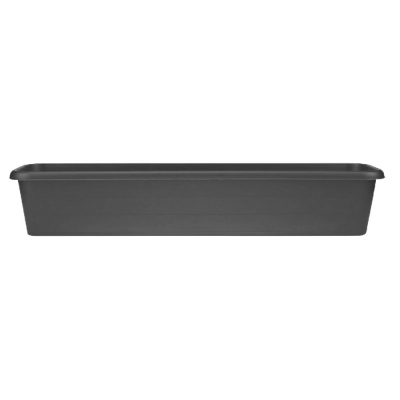 Stewart Terrace Trough Planter 100cm - Black
