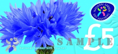 £5 National Garden Gift Voucher