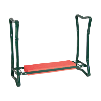 Town & Country Garden Kneeler And Stool Red And Green