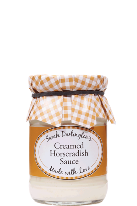 Mrs Darlington's Creamed Horseradish Sauce 180g