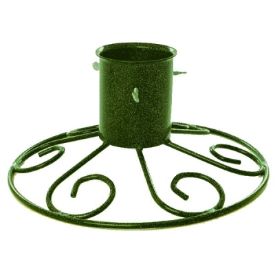 Tom Chambers Sleigh Base 4'' Christmas Tree Stand - Green