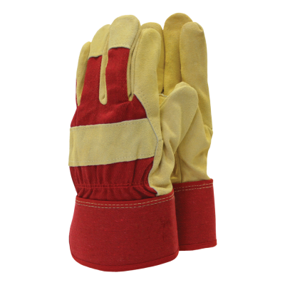 Town & Country Mens Thermal Rigger Gloves Large Red