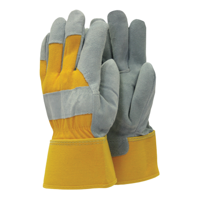 Town & Country Mens General Purpose Rigger Gloves Yellow Large