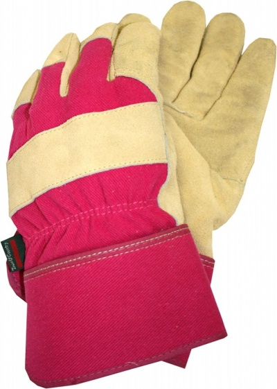 Town & Country Thermal Lined Ladies Gloves Pink Medium