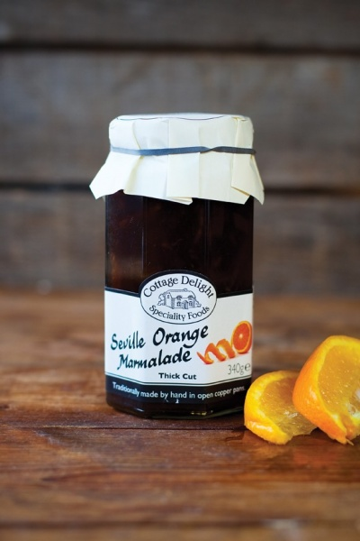 Cottage Delight Seville Orange Marmalade Thick Cut 340g