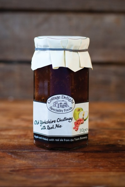 Cottage Delight Old Yorkshire Chutney With Real Ale 310g