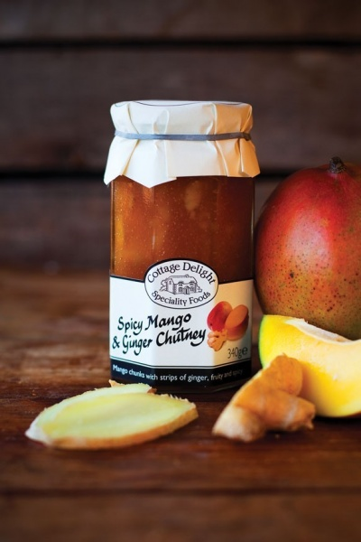 Cottage Delight Spicy Mango And Ginger Chutney 340g