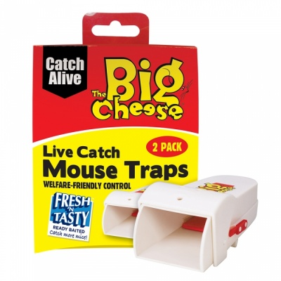STV Live Catch Mouse Trap Twin Pack