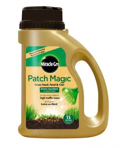 Miracle Gro Patch Magic Grass Seed Feed Coir Jug
