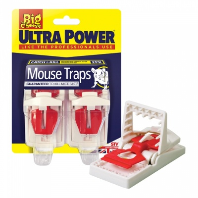 STV Ultra Power Mouse Traps Twin Pack