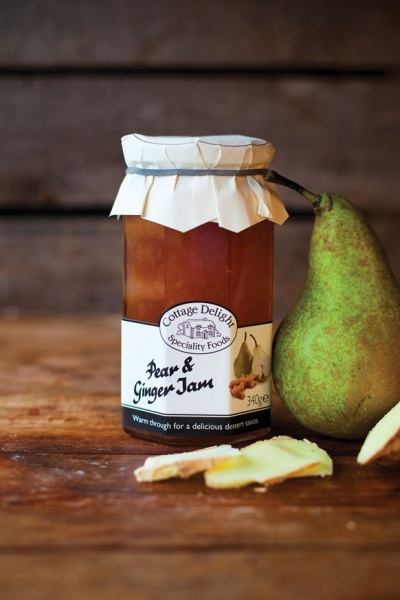Cottage Delight Pear and Ginger Jam 340g