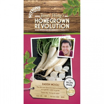 Suttons James Wong Homegrown Revolution - Radish Mooli