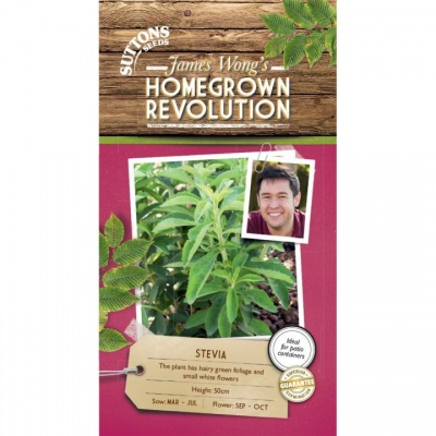 Suttons James Wong Homegrown Revolution - Stevia