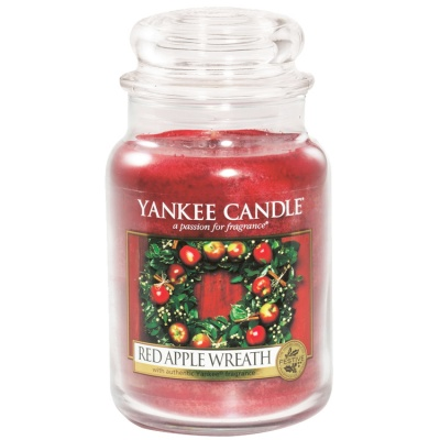 Yankee Candle ® Classic Large Jar 22oz - Red Apple Wreath