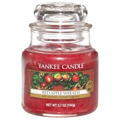 Yankee Candle ® Classic Small Jar 3.7oz - Red Apple Wreath