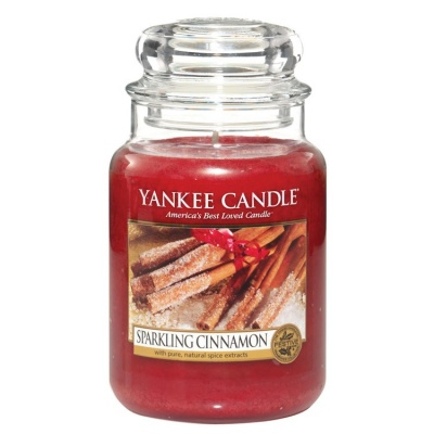 Yankee Candle ® Classic Large Jar 22oz - Sparkling Cinnamon
